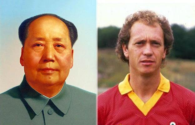 tramonto di Mao e mito di Falcao